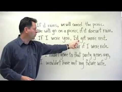 Advanced English Grammar ESL Lesson - Conditionals - YouTube *LOADS MORE*