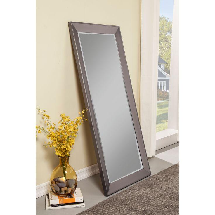 Sandberg Furniture Contemporary Full-length Leaner Mirror