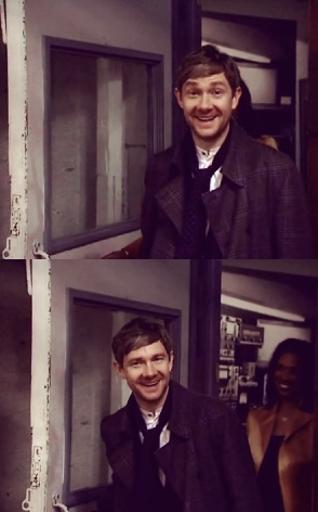 Martin Freeman :) Okay, these just may be the most ADORABLE photos of this man I have ever seen!