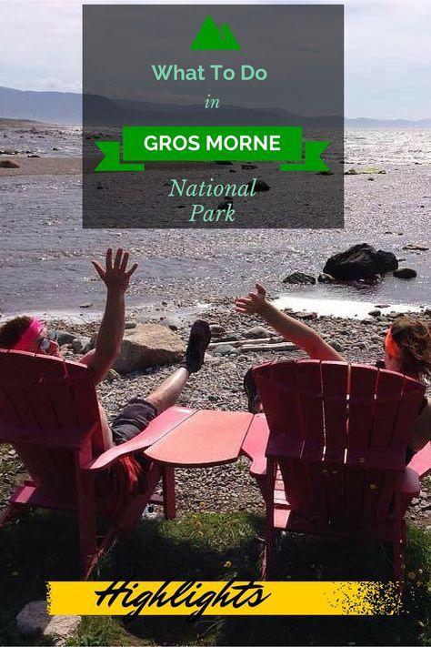 The highlights of Gros Morne National Park, Newfoundland, Canada.