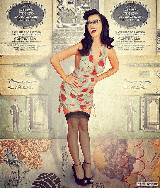 Graphic: Katy Perry Pin Up | Teen Choice Awards Photoshoot by brunochip, via Flickr