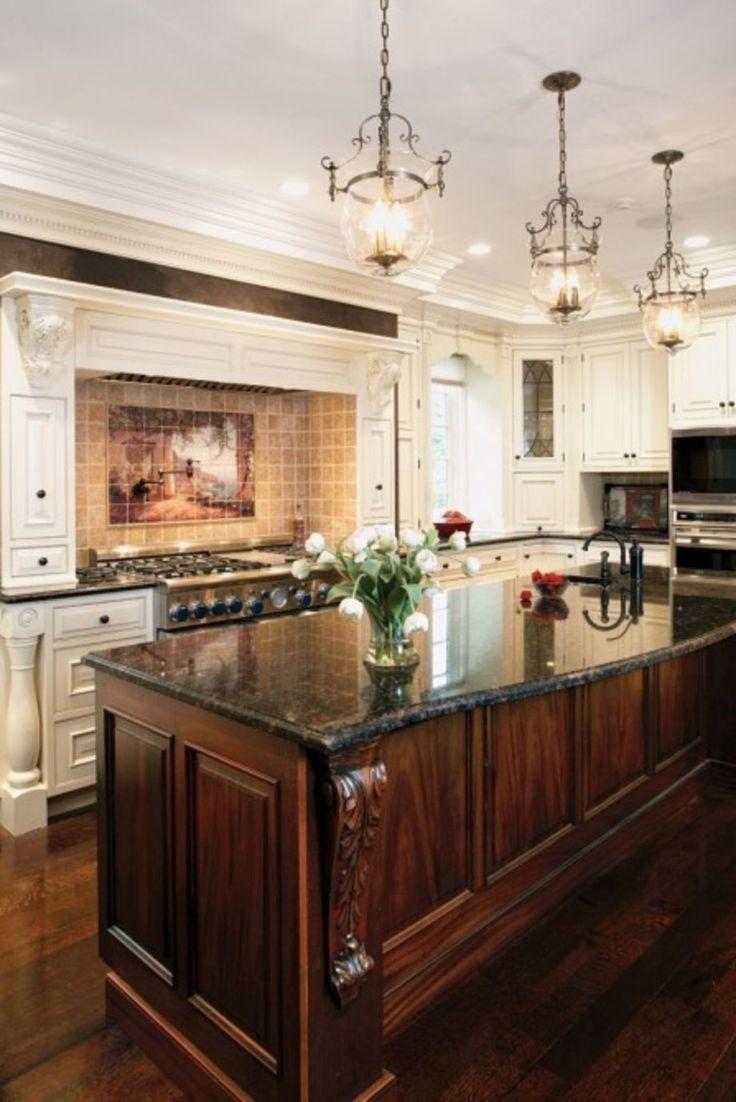 Best 25 dark wood kitchens ideas on pinterest dark for Cream and dark wood kitchens
