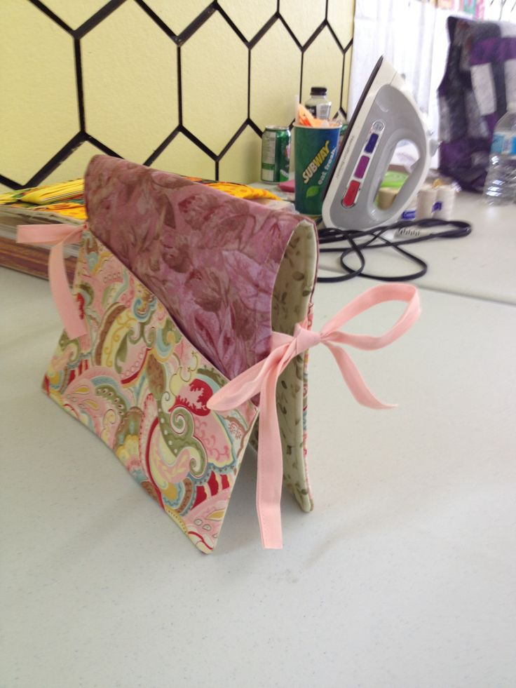 Walker bags made for the care home.