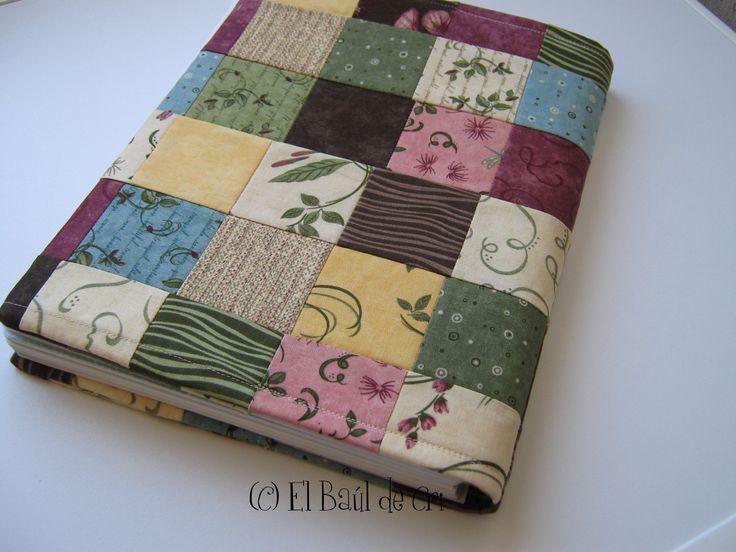 Tutorial: Forro de cuaderno en patchwork « El Baúl de Cris