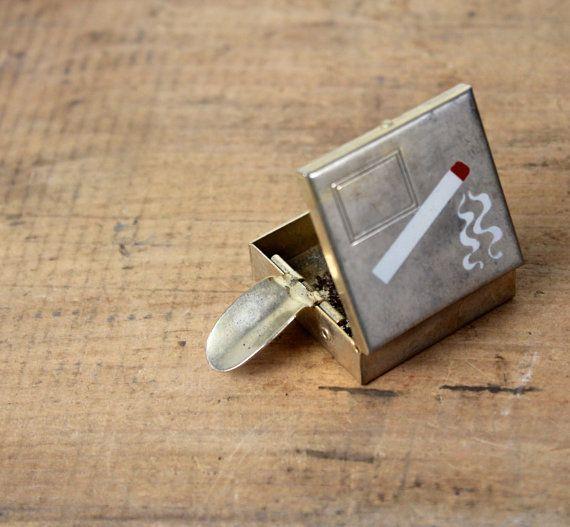 85 Best Vintage Portable Ashtray Images On Pinterest
