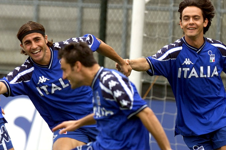 those were the days - cannavaro and inzaghi - euro 2000