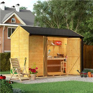 Buy a BillyOh Expert Tongue and Groove Reverse Apex Workshop from Garden Buildings Direct