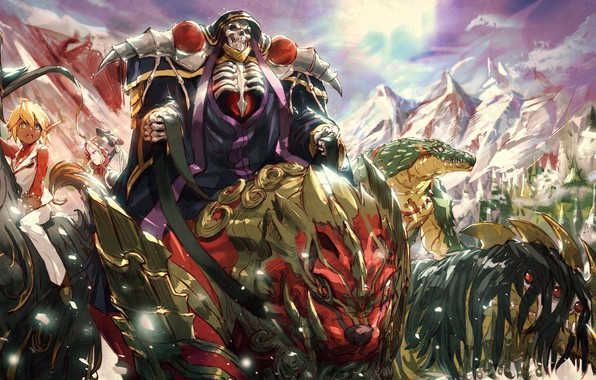 Overlord Iii Wallpaper In 2020 With Images Anime Wallpaper Backgrounds Background Images