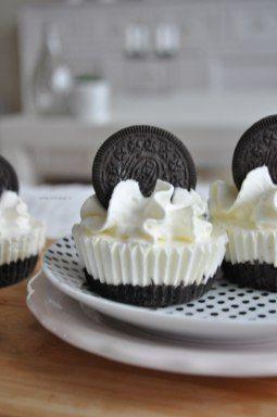 No bake oreo cupcakes | liefdevoorbakken.nl