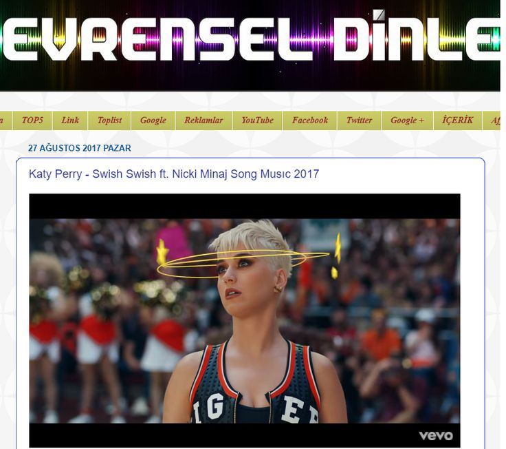 Katy Perry - Swish Swish ft. Nicki Minaj Song Musıc 2017