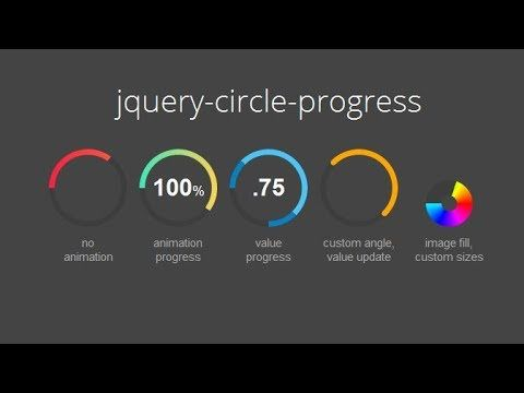 How to create an animated progressbar with jquery - Web