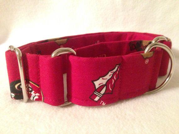 Pink Georgia Tech Dog Collar