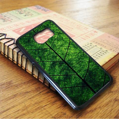 Nature Green Leaf Case Samsung Galaxy S7 Case