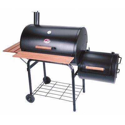 Char-Griller Smokin Pro Charcoal Grill & Smoker
