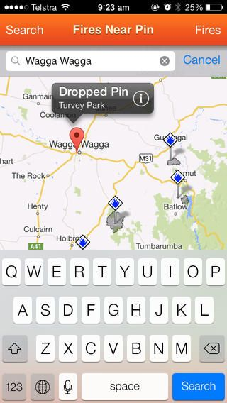 Fires Near Me: Official iPhone APP | NSW Rural Fire Service