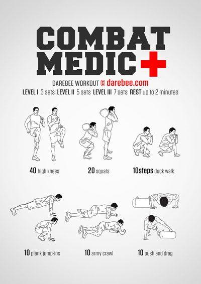 Combat Medic Workout