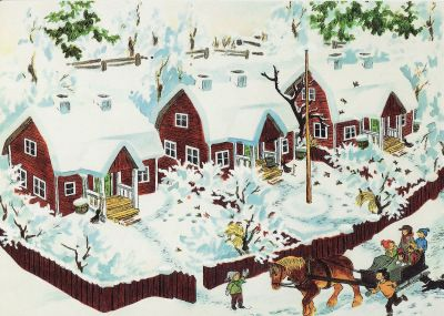 Barnen i Bullerbyn - Ilon Wikland