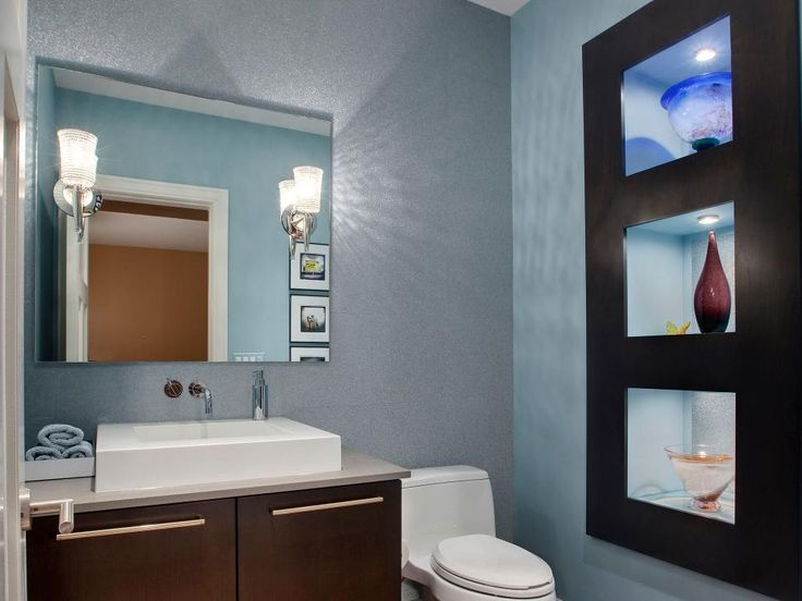 hgtvcom shows you half bathrooms and powder rooms to inspire your own bathroom renovation