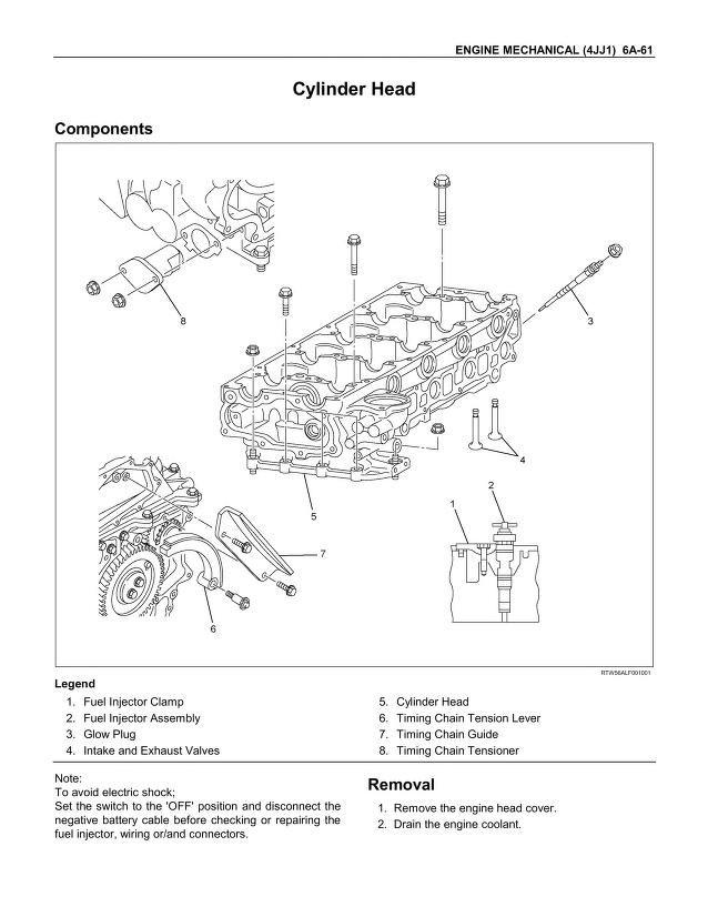 Isuzu D Max 2011 4jj1 Engine Service Manual Pdf Pdfy Mirror Isuzu D Max Map Engineering
