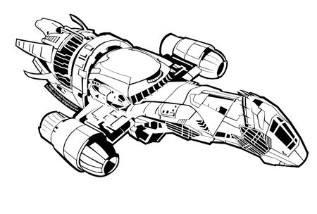 Serenity Ship Drawing Firefly serenity ship drawing I need to trace and transfer this onto my jacket