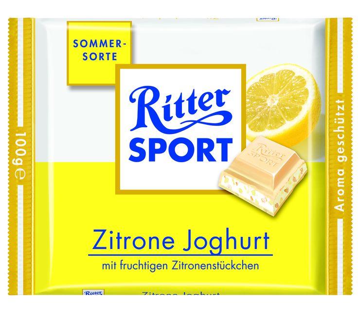 RITTER SPORT Zitrone Joghurt (2008)