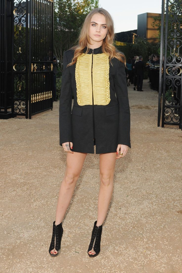 Burberry's London in LA event - Cara Delevingne - click through to see the full gallery
