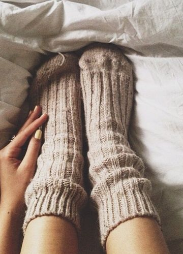 cozy socks make us want to snuggle in bed all day: cozy socks make us want to snuggle in bed all day