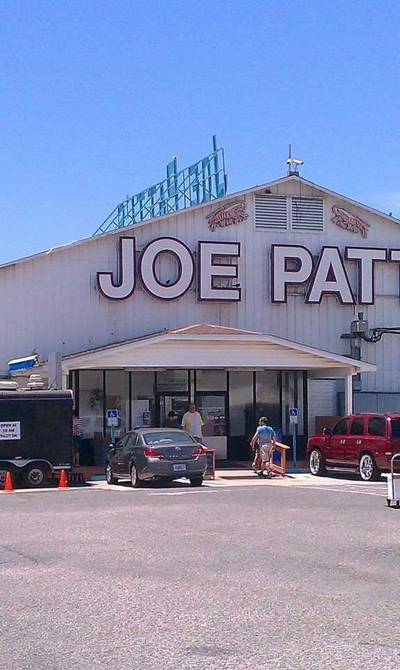 Joe Patti's gigantic seafood store, restaurant and gift shop--a Pensacola, Florida landmark.