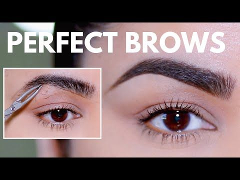 HOW TO GROOM, SHAPE & MAINTAIN EYEBROWS AT HOME (BEGINNER ...
