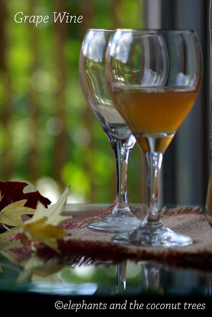 Homemade red grape wine / Kerala sweet wine / Easy wine making
