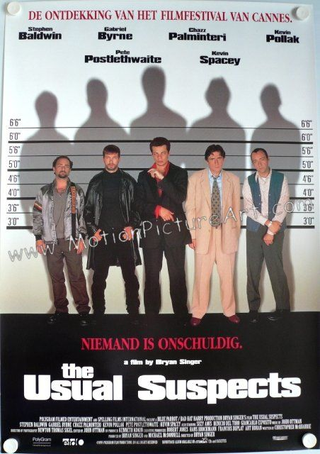 The usual suspect movie plot