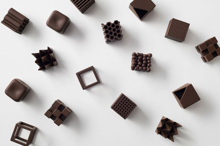 CHOCOLATEXTURE, BY NENDO