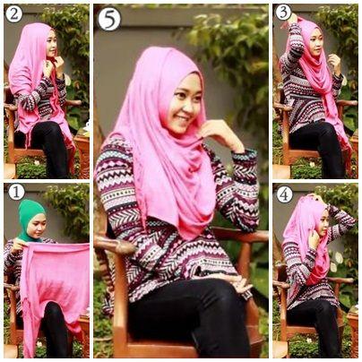 Tutorial Hijab Untuk ke Kampus #5
