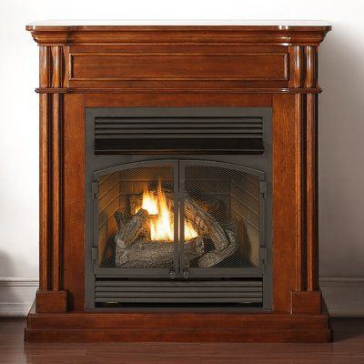 Duluth Forge Autumn Spice Dual Fuel Ventless Natural Gas / Propane Fireplace - 17 Best Ideas About Ventless Propane Fireplace On Pinterest