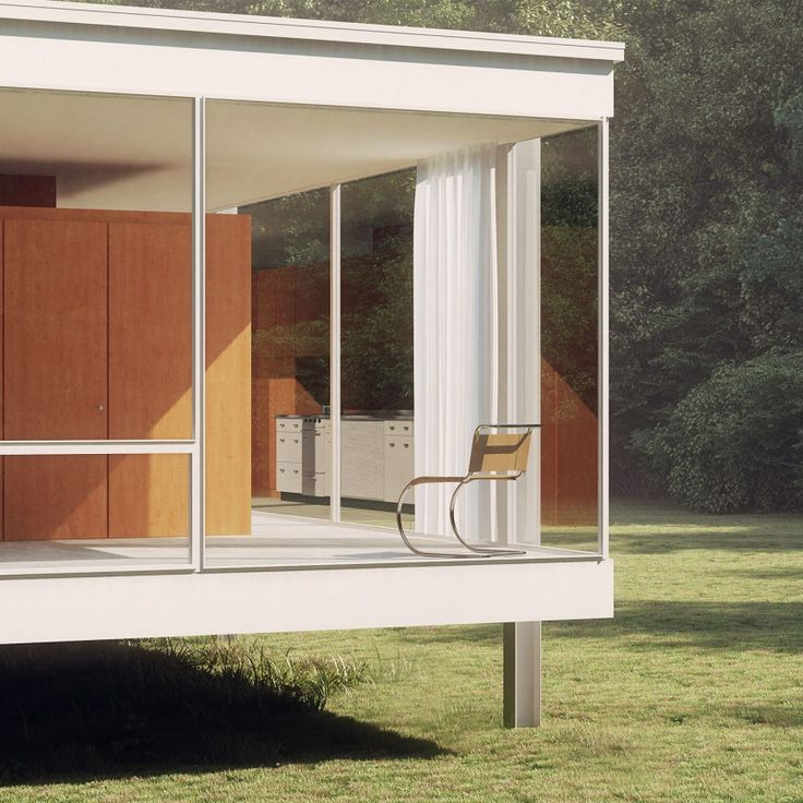 "The Farnsworth House, Illinois: No. 3 in COS's ""50 Things We Love From America"" project"