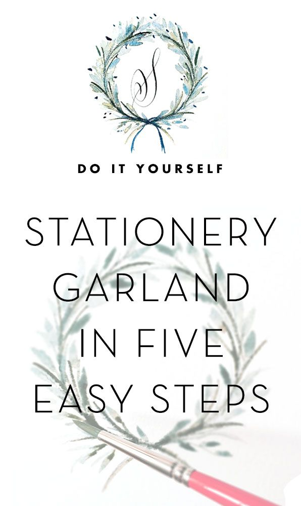 How To: Stationery Garland in 5 Easy Steps - a must read for the additional information on tools and technique. THANKS!