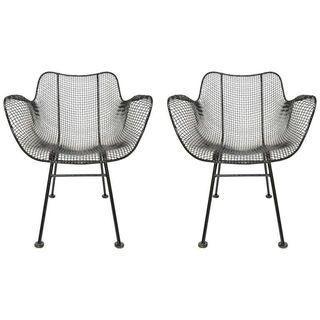 Russell Woodard Sculptura Lounge Chairs - A Pair