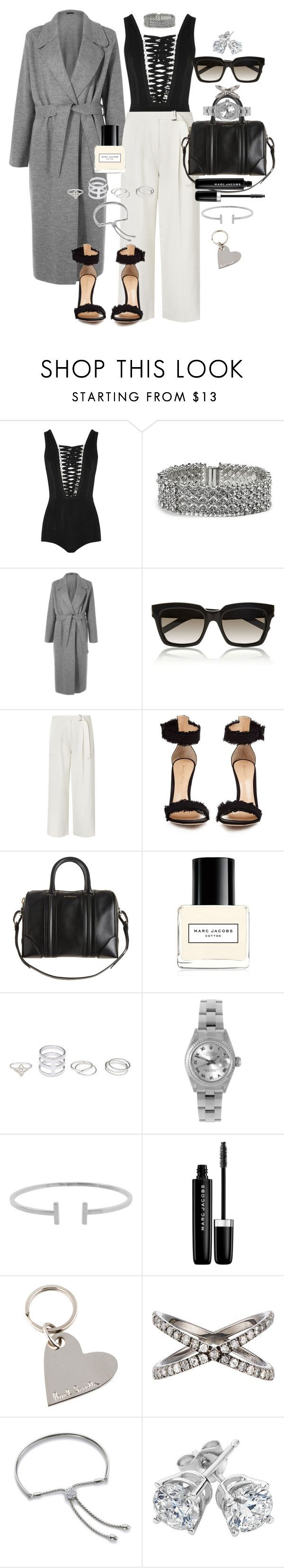 """Glam"" by marissa-91 ❤ liked on Polyvore featuring Givenchy, GUESS, The Row, Yves Saint Laurent, L.K.Bennett, Gianvito Rossi, Marc Jacobs, Rolex, Humble Chic and Paul Smith"