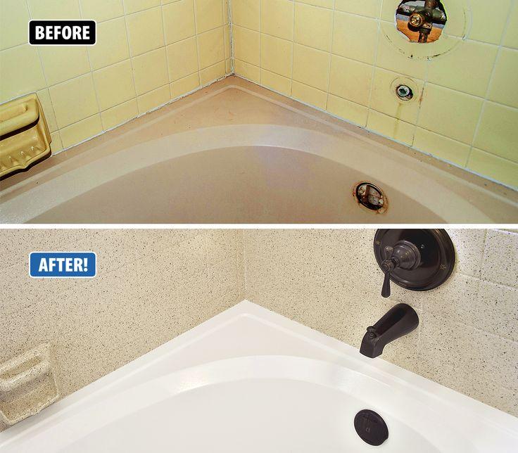 Refinish Bathroom Tile Endearing Design Decoration