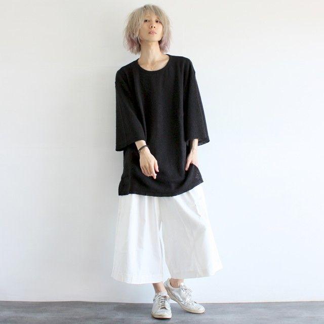 【albino】プリーツデザインコットンガウチョパンツ - メンズスカートなどモード系ファッションの通販 albino