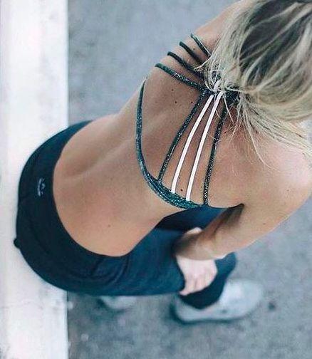 Pinterest: iamtaylorjess | Sports bra, workout gear, gym clothes #lululemon #fitspo