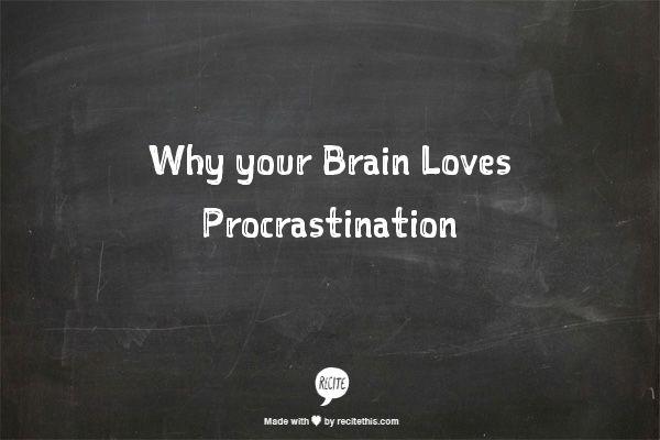 Procrastinators vs. Non-Procrastinators