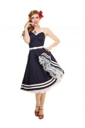 Ginger Sailor Wing Bust Doll Dress