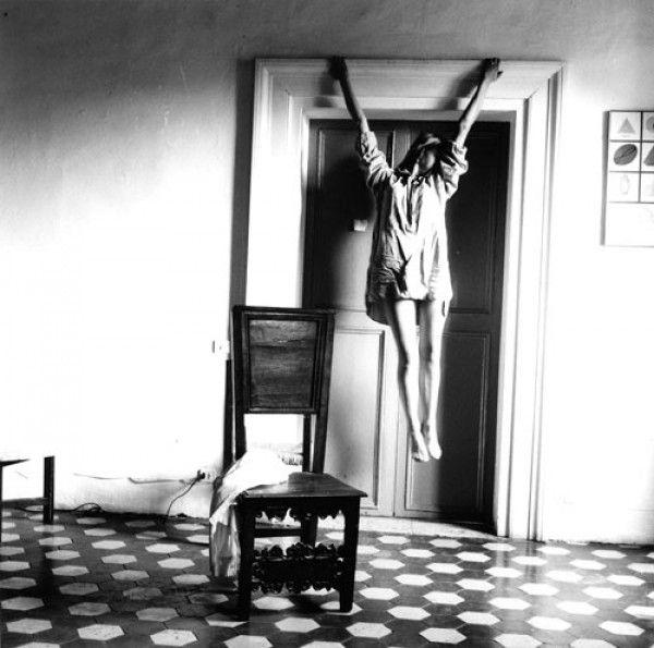 """Francesca Woodman. """"Untitled"""", Rome, 1977-78."""
