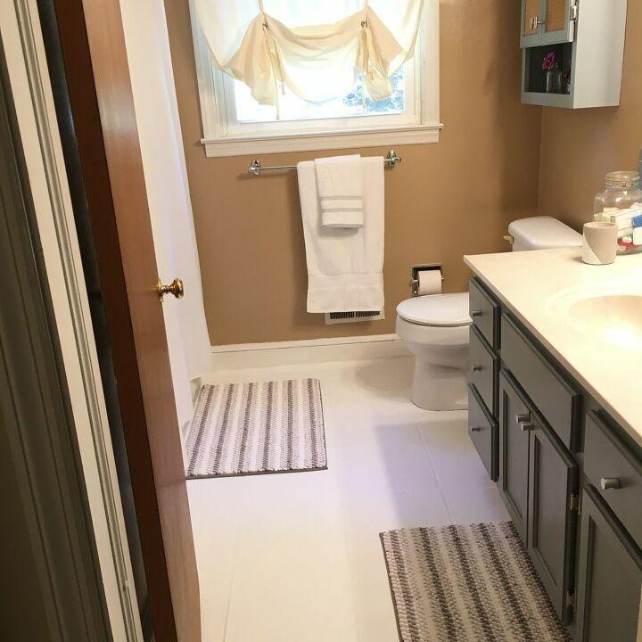 Simple Sconces From Teacups Plates Bathroom Makeover Bathroom Refresh Bathroom Refresh Diy