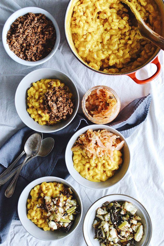 Vegan Butternut Mac and 'Cheese' 3 Ways