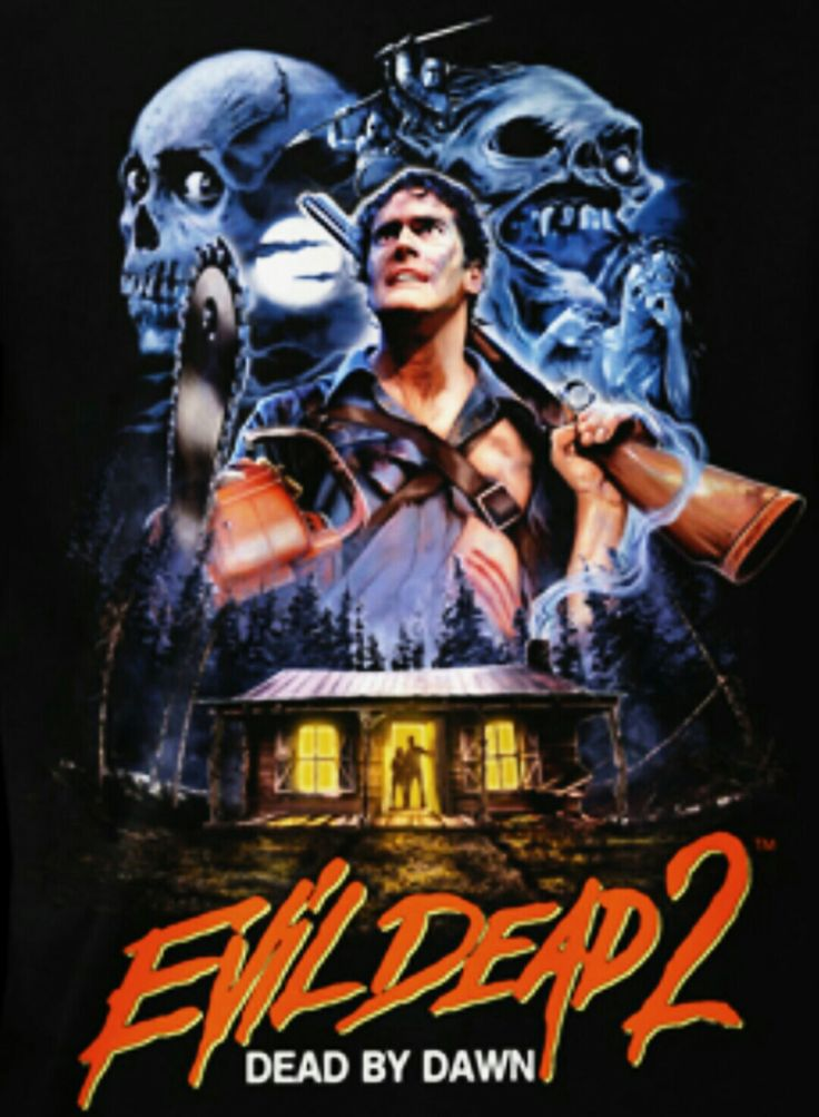 Evil Dead 2 Dead By Dawn Horror Movie