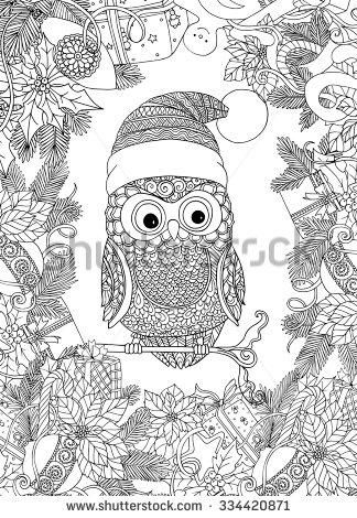 christmas coloring book for adults google search