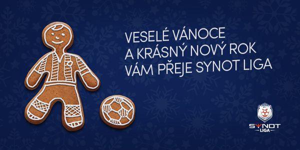 The Synot liga's 2015/2016 Christmas/New Year card