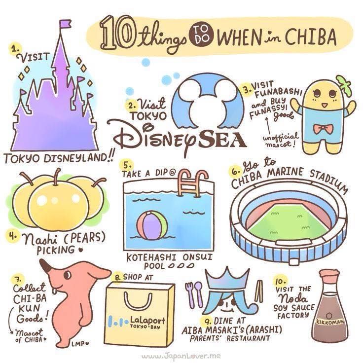 10 things to do when in Chiba, Japan